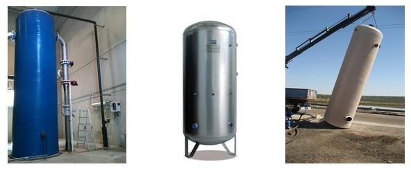 Contactadores para la generación de ozono