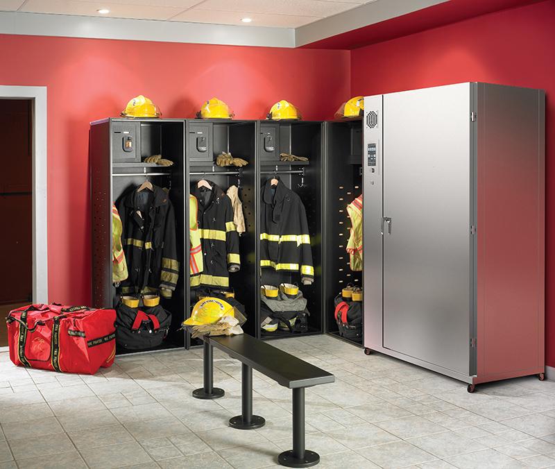 Ozonización en estaciones de bomberos