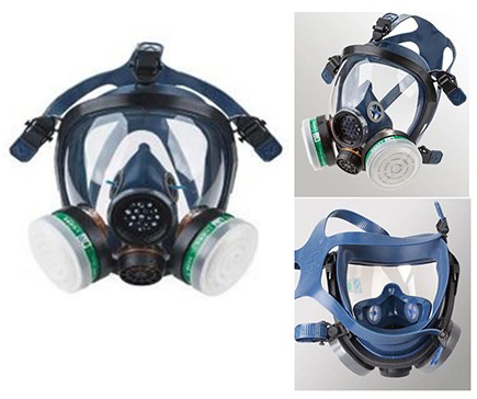 Máscaras semi industriales anti gas