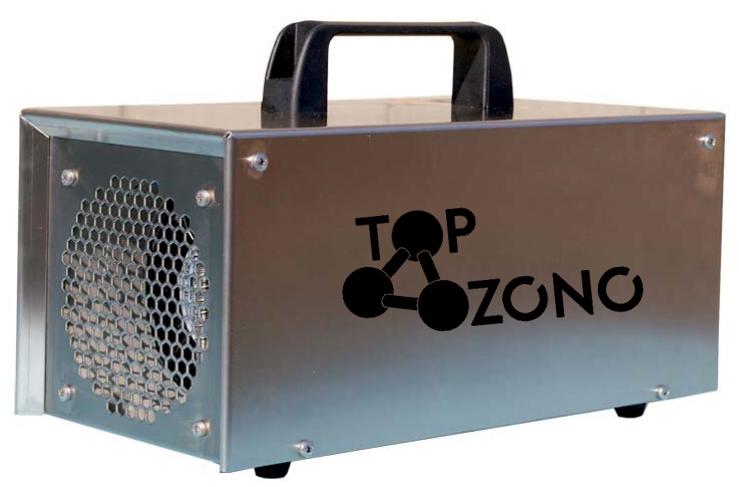Ozonizador portátil comercial