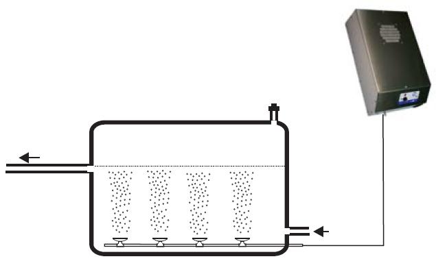 Generador de ozono para agua