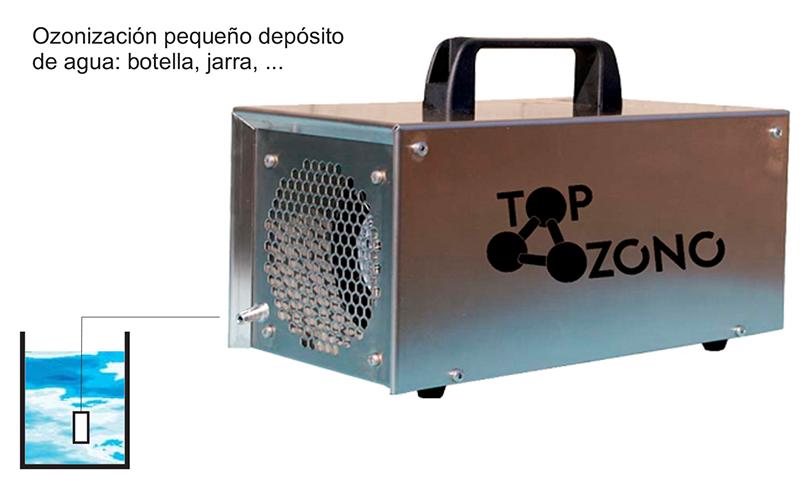 Generador de ozono comercial P500AC