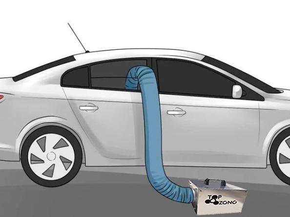 Ozonizador para coche