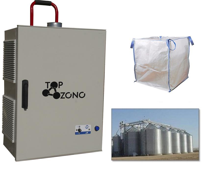 Venta de ozonizadores semindustriales de silos vacíos