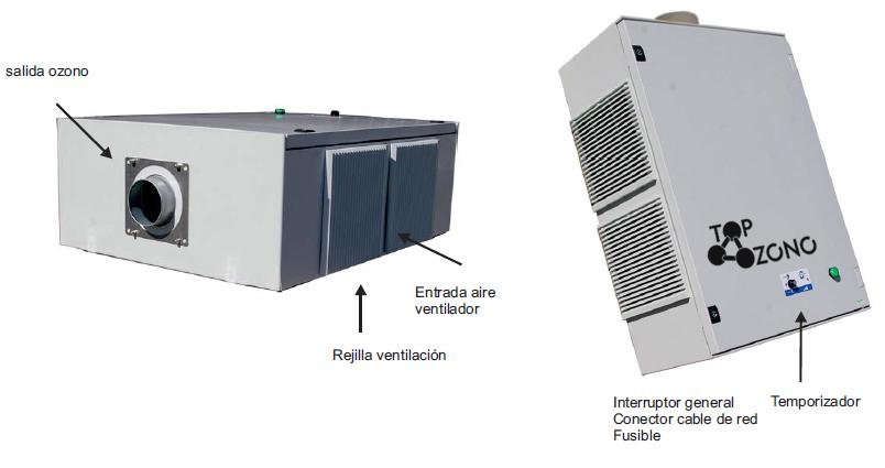 Ozonificador de aire